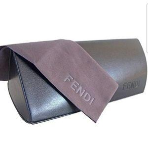 FENDI Sunglass case and cloth